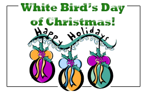 White Bird Days of Christmas
