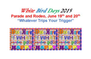 White Bird Days 2015