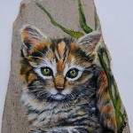Pet Portraits on Stone